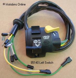 Compatibilité cocotte et commodos (gauche) R100RS  Origin10
