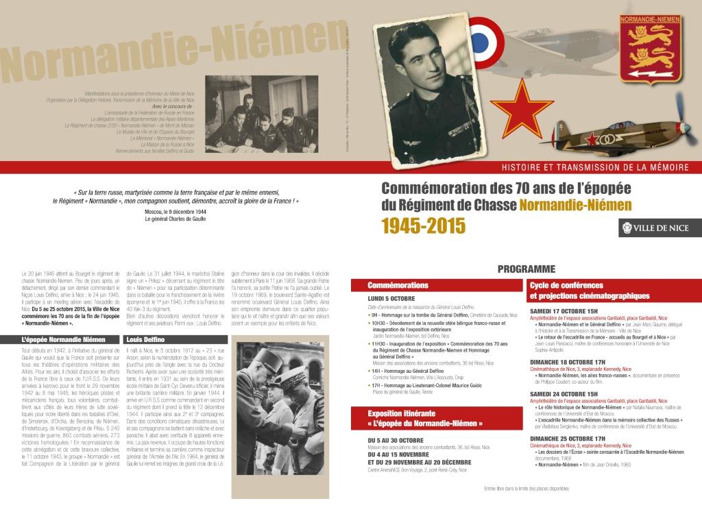 5 octobre 2015, Hommage au Général Louis delfino et au Colonel Maurice Guido Commem12