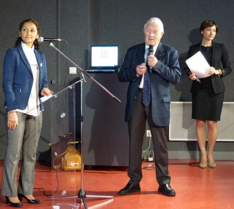 Conférence et Présentation de l'Espace « Normandie-Niémen » le 10 octobre 2015 pour faire découvrir le Musée de l'Air et de l'Espace à la communauté russophone en France De_gau10