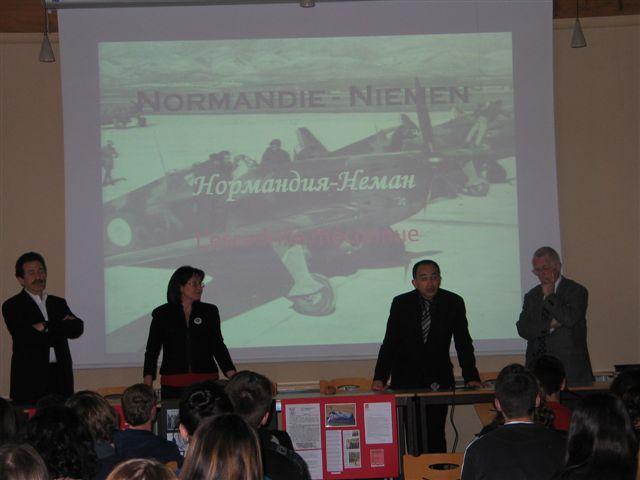 Le  Mémorial était présent à Dole (Jura) et à Feytiat 87 Dole_110