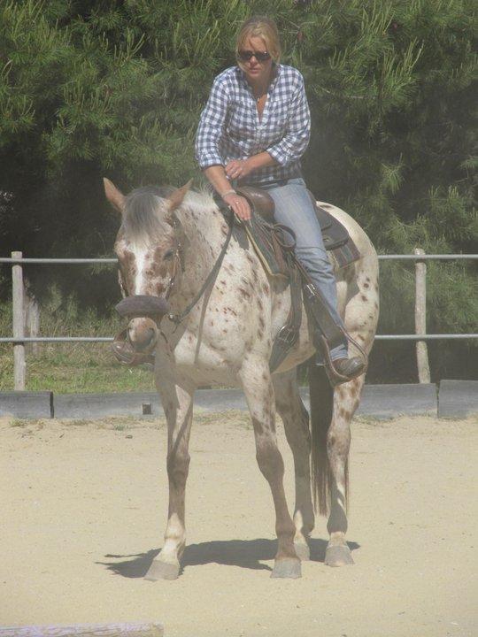 """Centre equestre western """"LA PALOUSE"""" st Cyprien 22224010"""