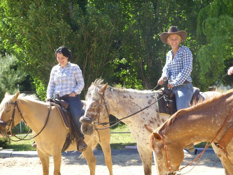 """Centre equestre western """"LA PALOUSE"""" st Cyprien Ss851411"""