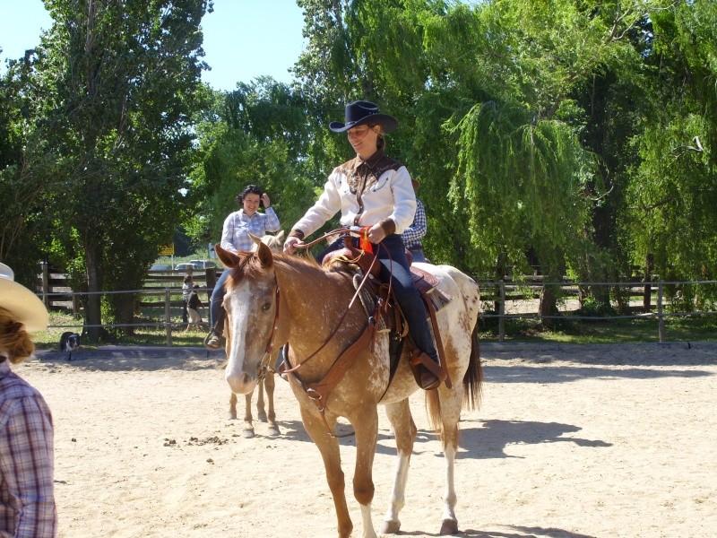 """Centre equestre western """"LA PALOUSE"""" st Cyprien Ss851412"""