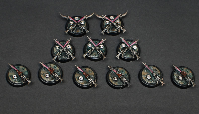 Pain Tokens, Objective Markers, Turn Counters Tokens10