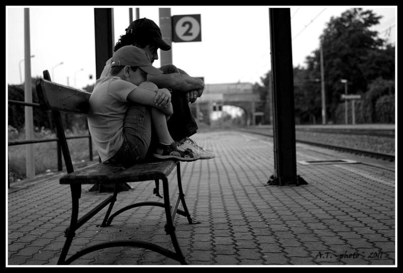 In attesa ... del treno Pessio10