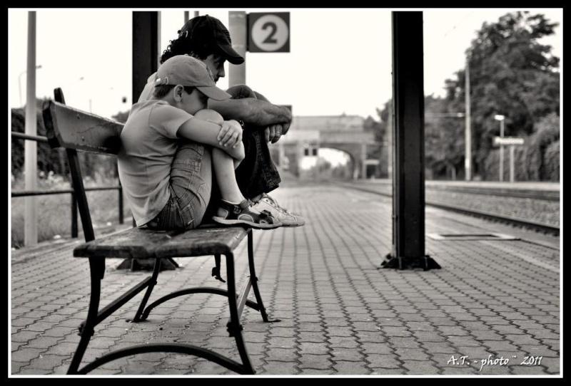 In attesa ... del treno Statio10