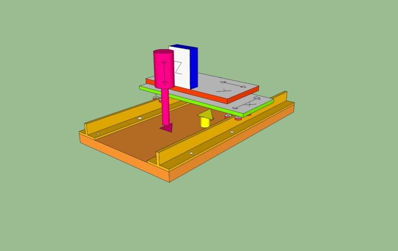 construction de ma 1er fraiseuse cnc Suport10
