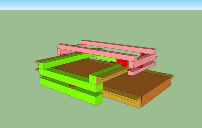 construction de ma 1er fraiseuse cnc Yx10