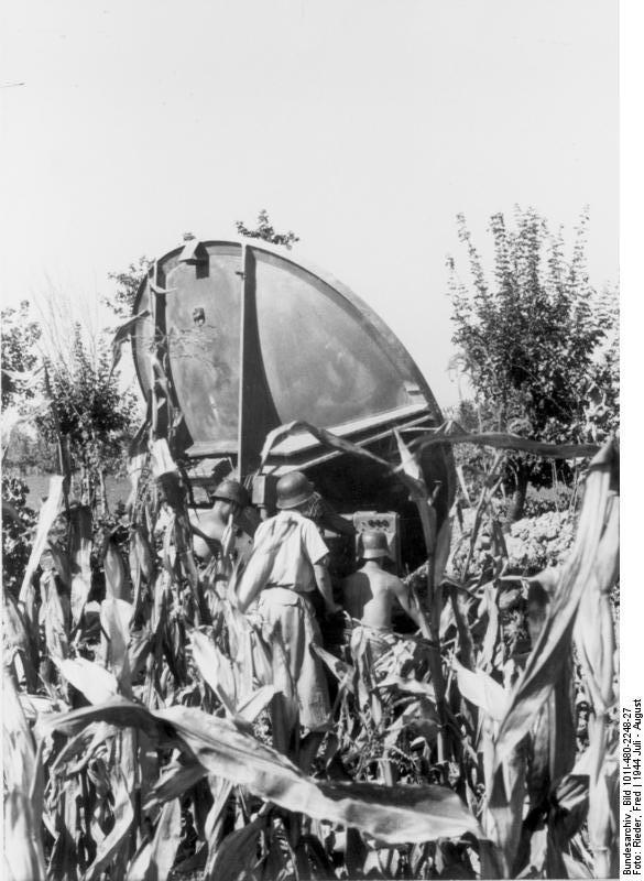 Les radars en service pendant la WW2 Bundes13