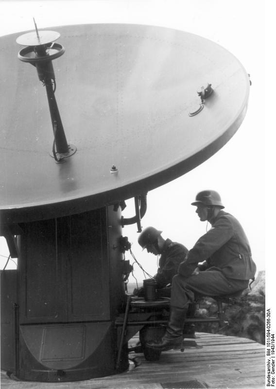 Les radars en service pendant la WW2 Bundes14