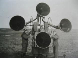 La détection accoustique pendant la seconde guerre mondiale. Mur-at10