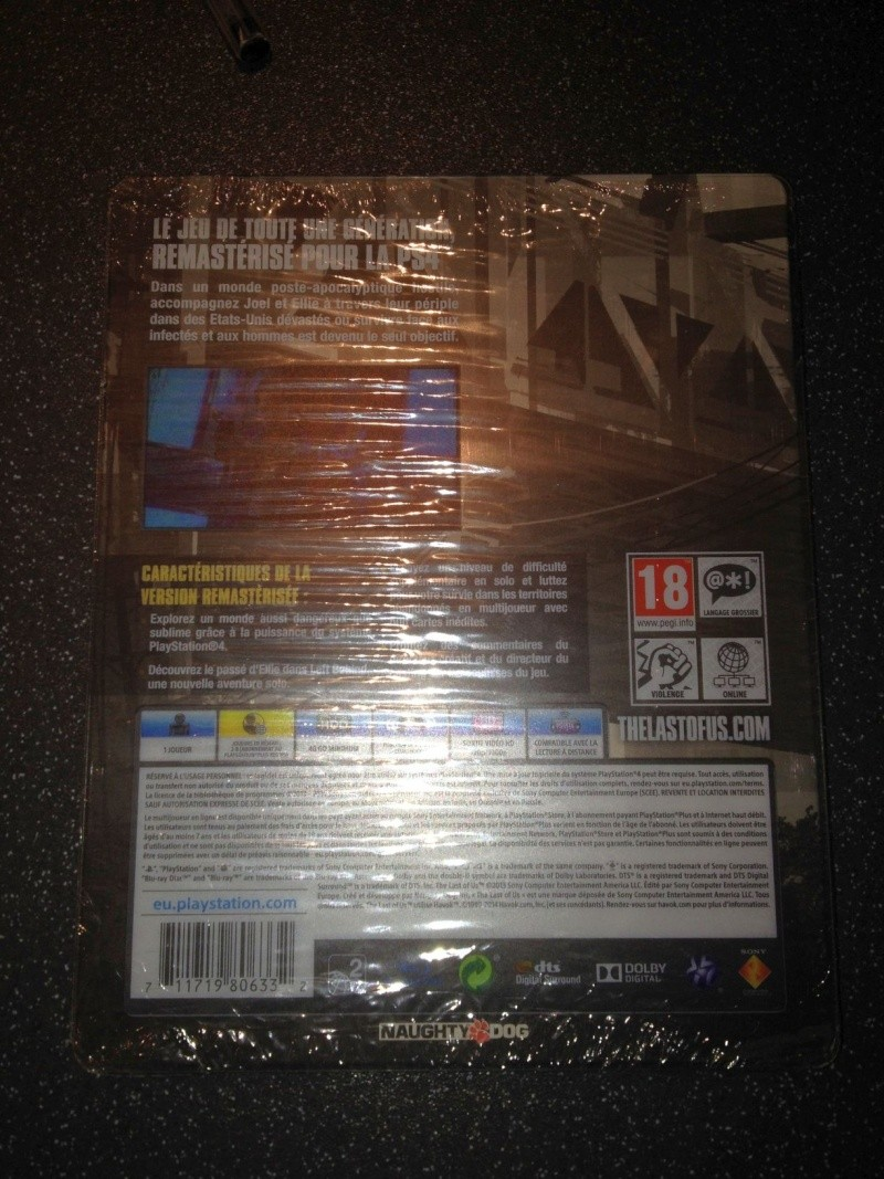 The Last of US Remastered : Steelbook inconnu Img_3811