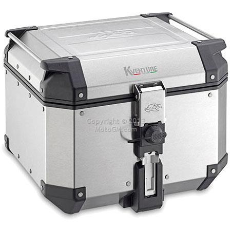 ouverture valises yamaha avec top case givi trekker Getima11