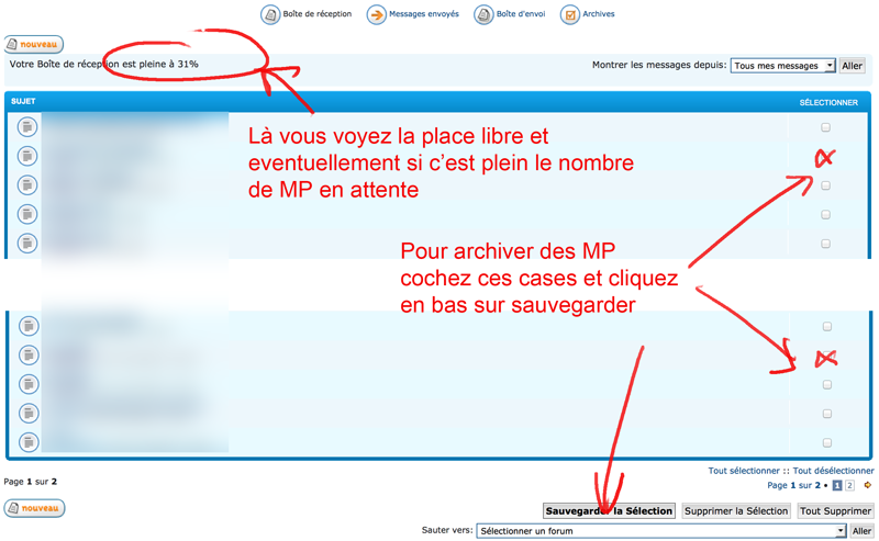 Augmentation de la taille de votre...boite de messagerie (et autres infos sur les MP) Mp10