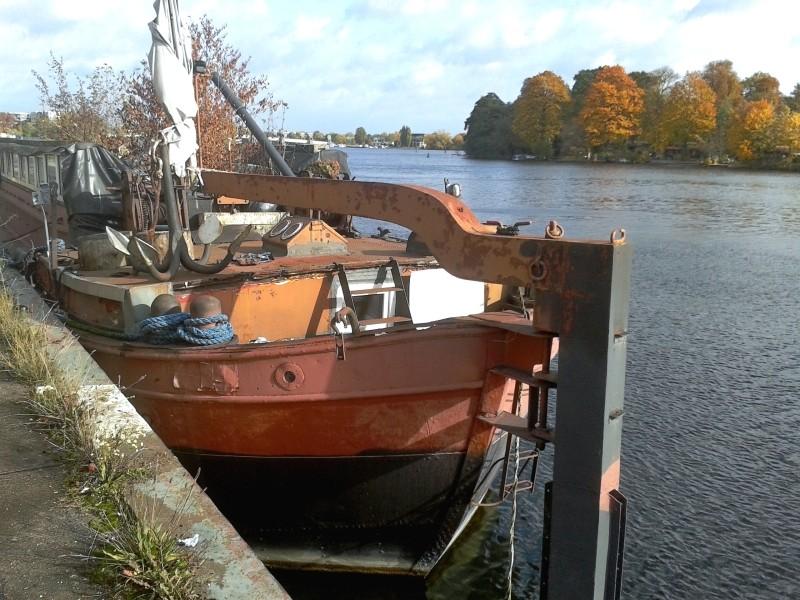 Ein alter Binnenkahn Boot0112