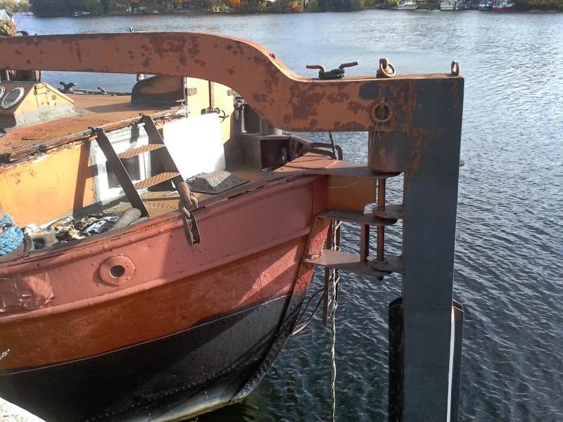 Ein alter Binnenkahn Boot0212