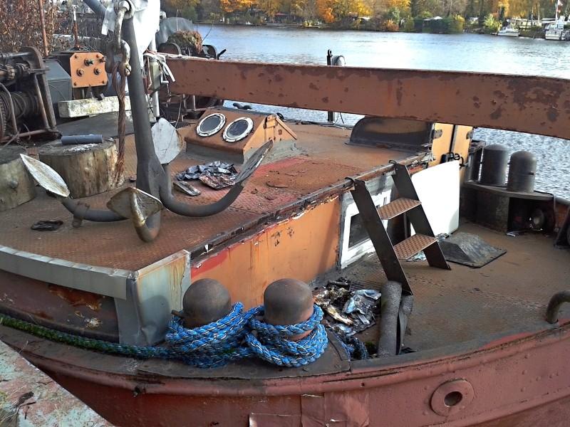 Ein alter Binnenkahn Boot0312