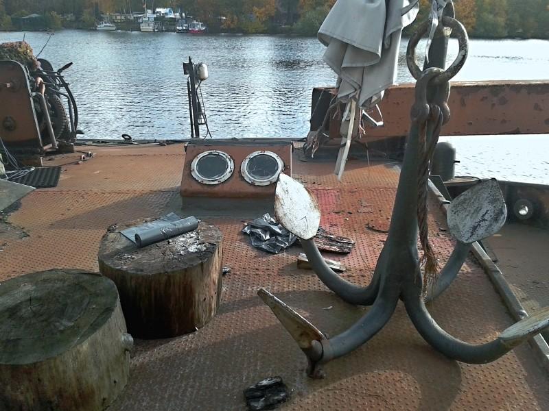 Ein alter Binnenkahn Boot0313