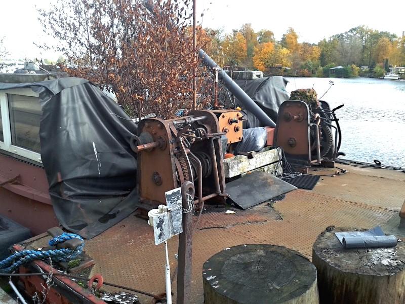 Ein alter Binnenkahn Boot0412