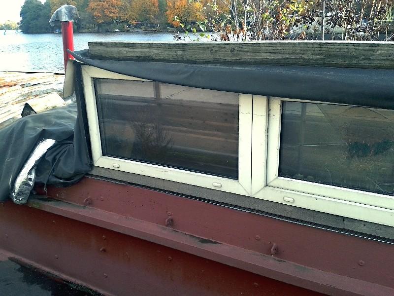 Ein alter Binnenkahn Boot0612