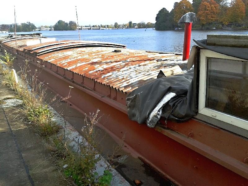 Ein alter Binnenkahn Boot0712