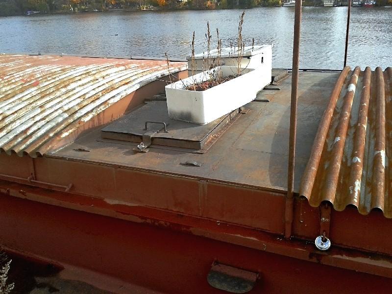 Ein alter Binnenkahn Boot0813