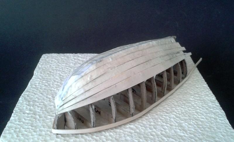 Kleines Fischerboot aus eigener Werft Boot0910