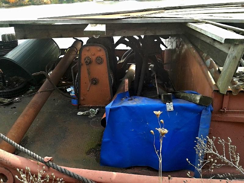 Ein alter Binnenkahn Boot0912