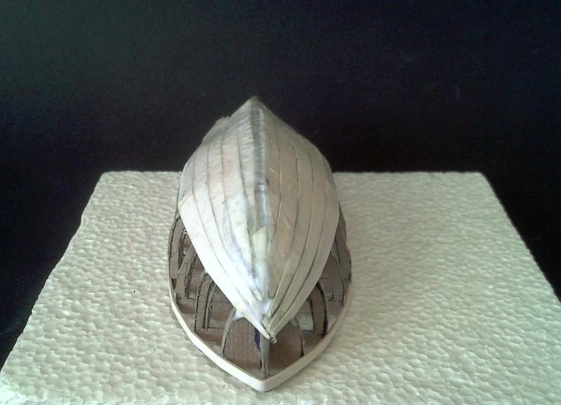 Kleines Fischerboot aus eigener Werft Boot1010