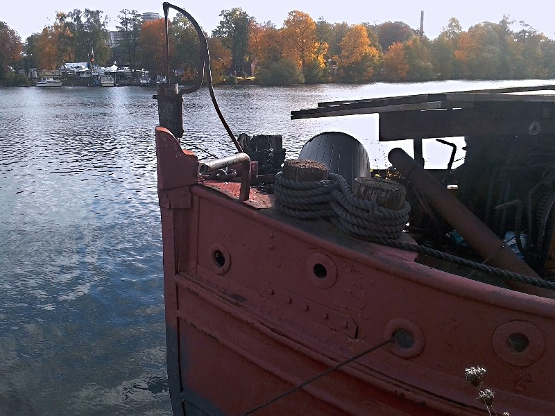 Ein alter Binnenkahn Boot1013