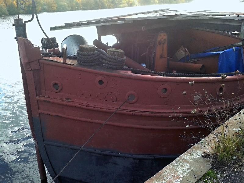 Ein alter Binnenkahn Boot1116