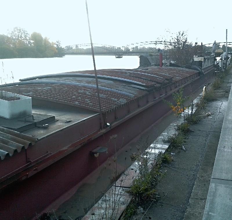 Ein alter Binnenkahn Boot1311