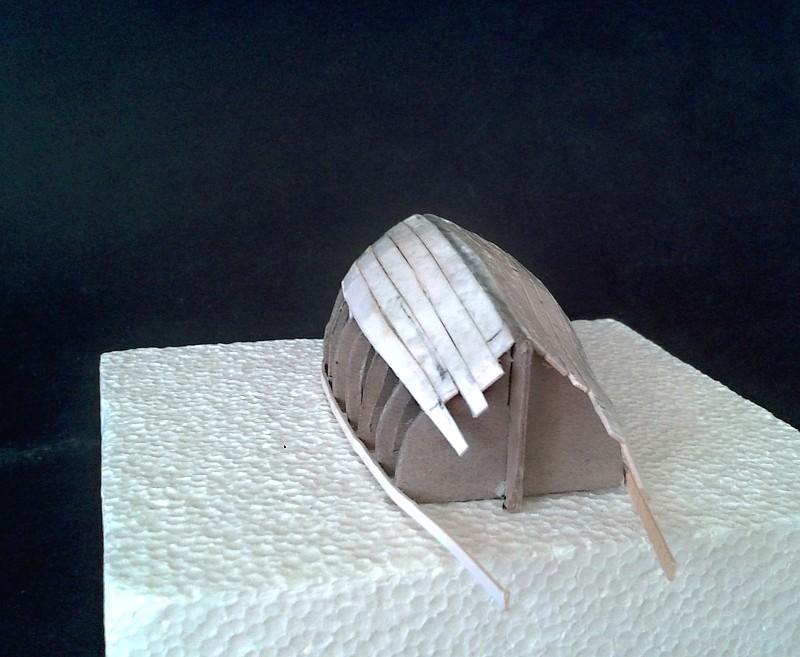 Kleines Fischerboot aus eigener Werft Boot1410