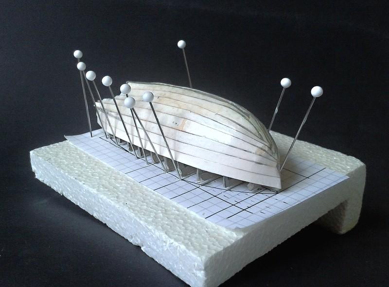 Kleines Fischerboot aus eigener Werft Boot1510