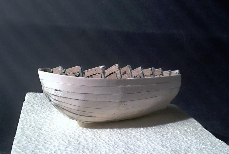 Kleines Fischerboot aus eigener Werft Boot1710