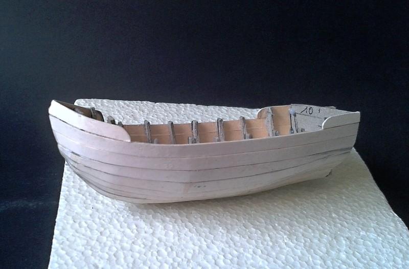 Kleines Fischerboot aus eigener Werft Boot1910