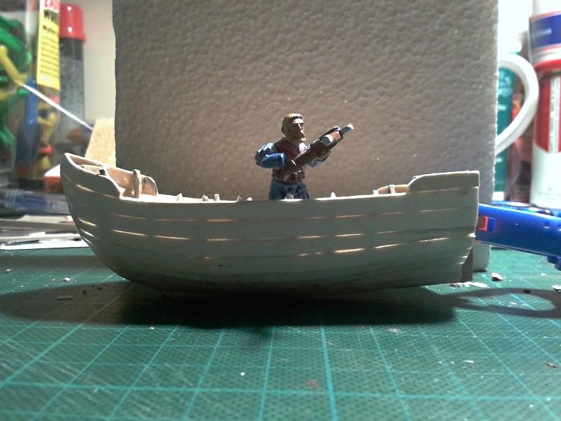 Kleines Fischerboot aus eigener Werft Boot2210