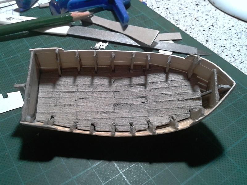Kleines Fischerboot aus eigener Werft Boot2411