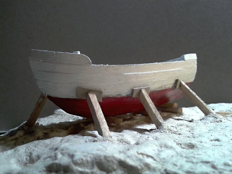Kleines Fischerboot aus eigener Werft Boot2610
