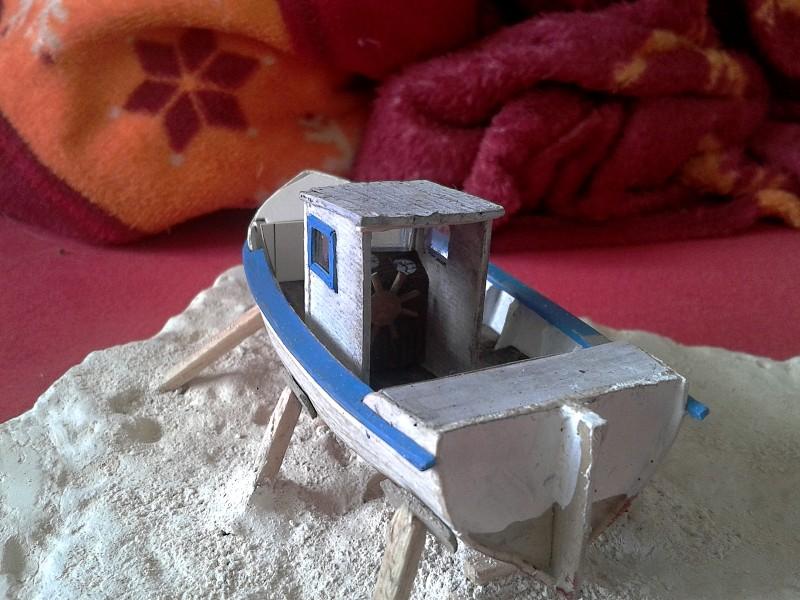 Kleines Fischerboot aus eigener Werft Boot4410