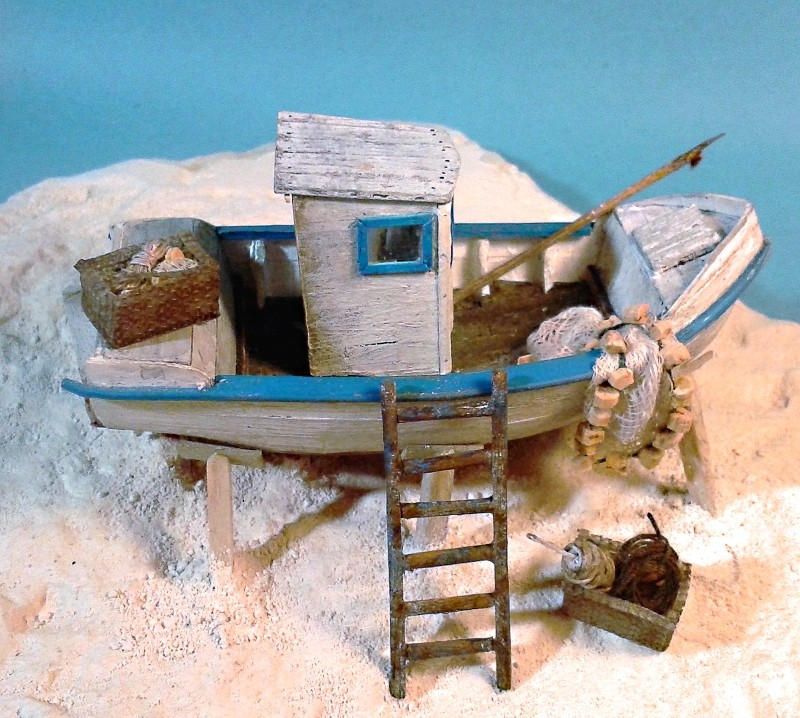 Kleines Fischerboot aus eigener Werft - Seite 2 Boot5310