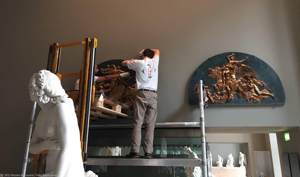 Expo. Archives nat. Les décors de la Chancellerie d'Orléans 11224211