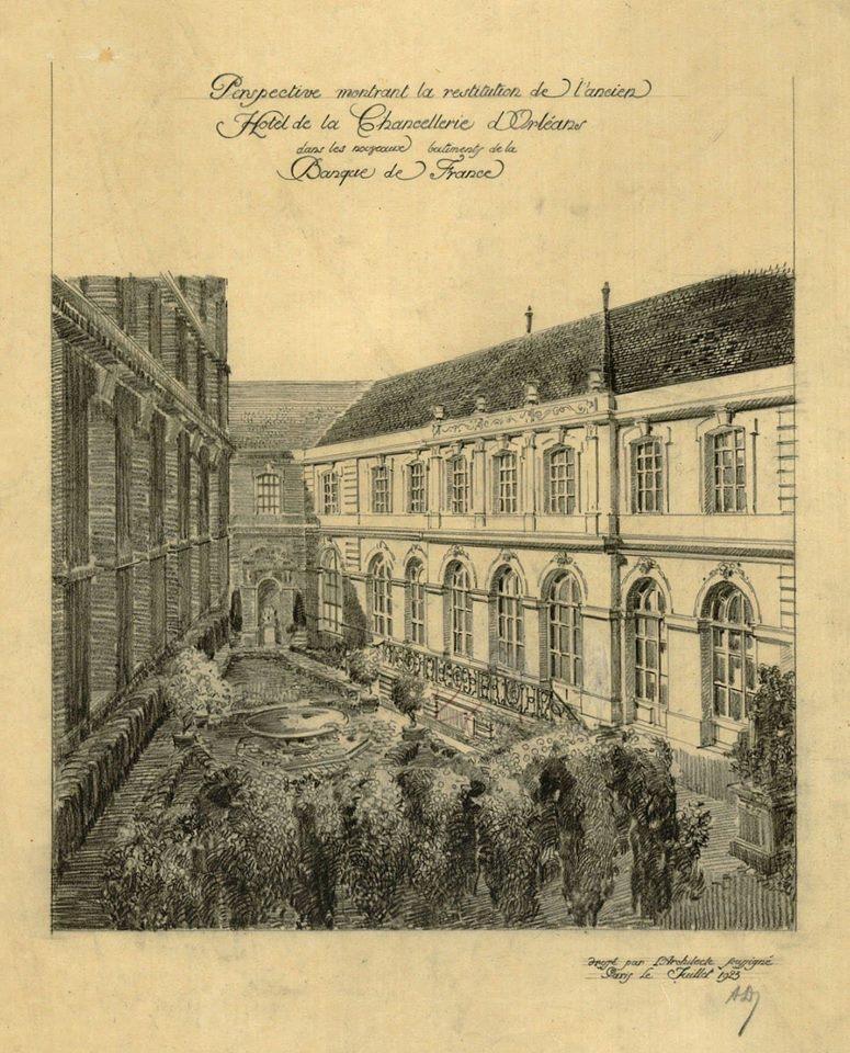 Expo. Archives nat. Les décors de la Chancellerie d'Orléans 11892310