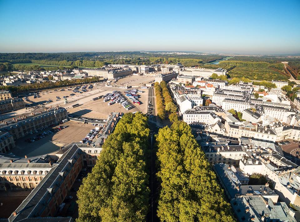 Versailles vu du ciel.  12115610