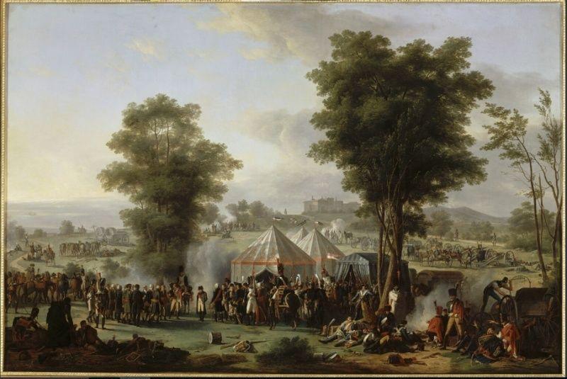 Le bivouac de Napoléon, luxe et ingéniosité en campagne Bivoua10