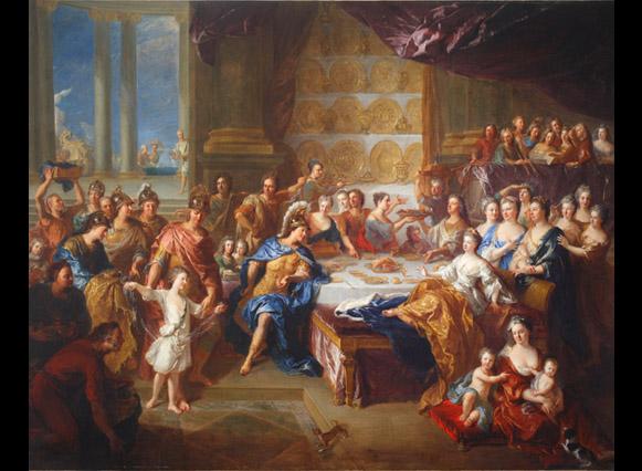Les foyers artistiques à la fin du règne de Louis XIV Collec10