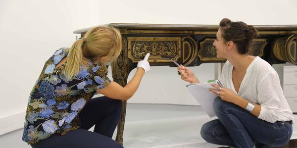 La restauration d'un bureau d'A-C Boulle au Louvre-Lens Cpfz3z10