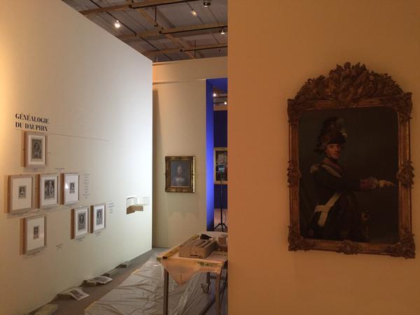 Fontainebleau : expo Le Dauphin, l'artiste et le philosophe Crno5a10