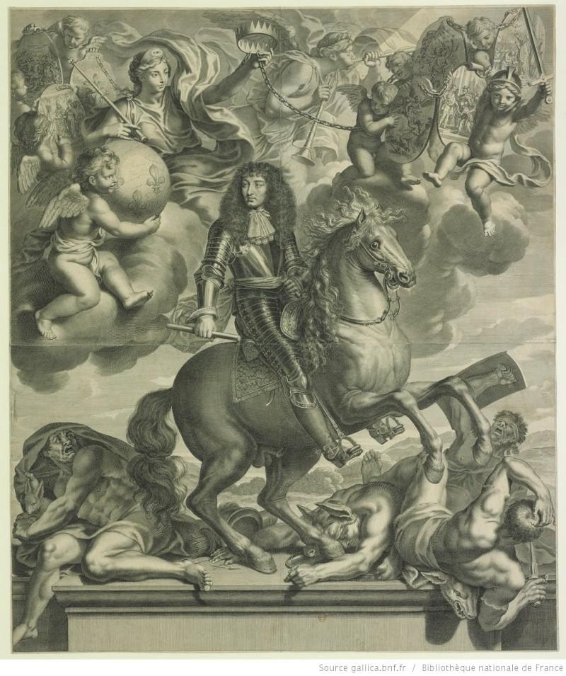 Images du Gd Siècle l'estampe française au temps de LouisXIV Louis_12