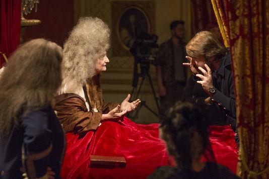 La mort de Louis XIV, film tourné au chateau de Hautefort Lyaud_10
